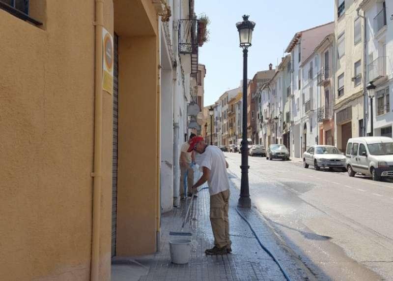 Limpieza general de las calles