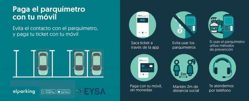 Cartel informativo sobre la ORA. / EPDA