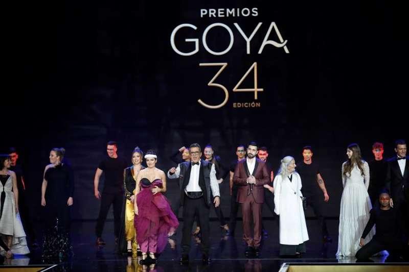 Un momento de la gala de entrega de los Premios Goya 20. EFE/Archivo