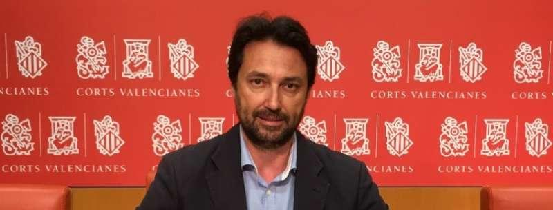 El portavoz adjunto del Grupo Parlamentario Popular (GPP), Vicente Betoret