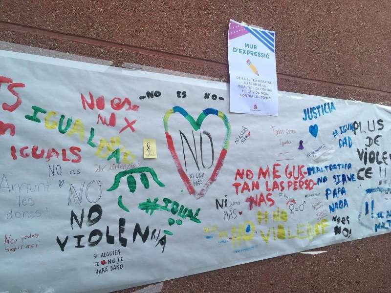Acciones contra la violencia de género en los centros escolares de l