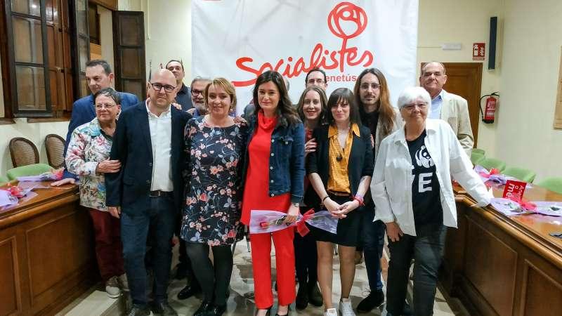 Presentación de la candidatura socialista de Eva Sanz