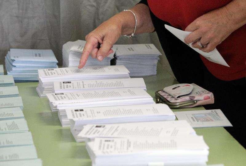 Unas papeletas de las elecciones municipales del pasado 26 de mayo. EFE/Archivo