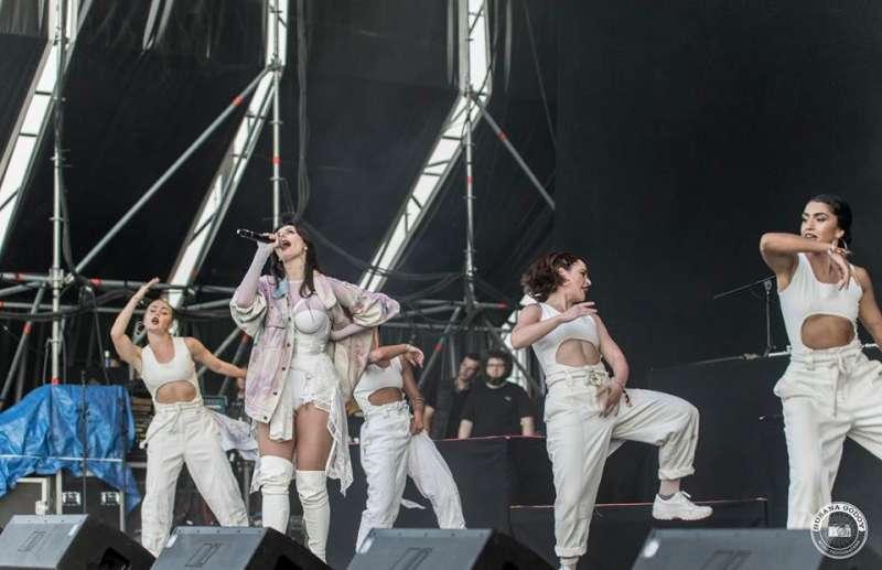 Mala Rodríguez, en el Music Port Festival en la de edición de 2018.