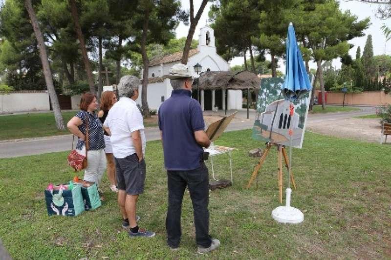 Concurs de Pintura Ràpida a Godella. EPDA