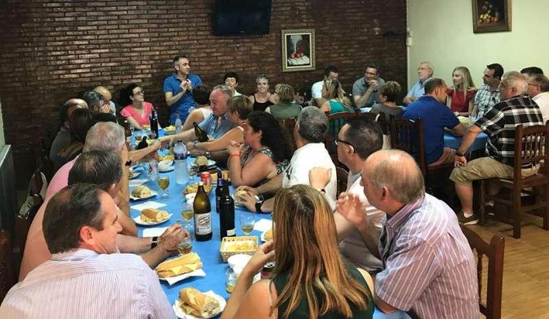 Reunión del PP comarcal