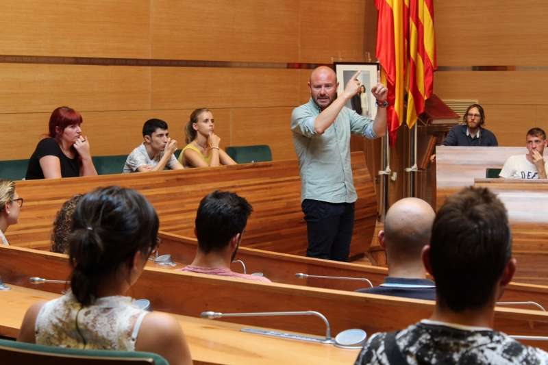 Bienvenida por parte del President de la Diputació. Foto Álex Rodríguez.