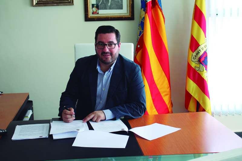 Leandro Benito, alcalde de Canet. FOTO EPDA