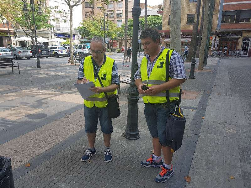 Agentes cívicos de Aldaia. EPDA