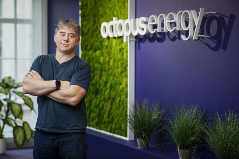 Greg Jackson, director ejecutivo y fundador de Octopus Energy.