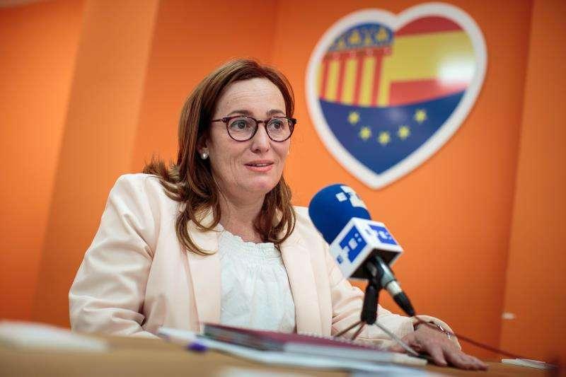 La diputada Patricia García, Ciudadanos. -EPDA