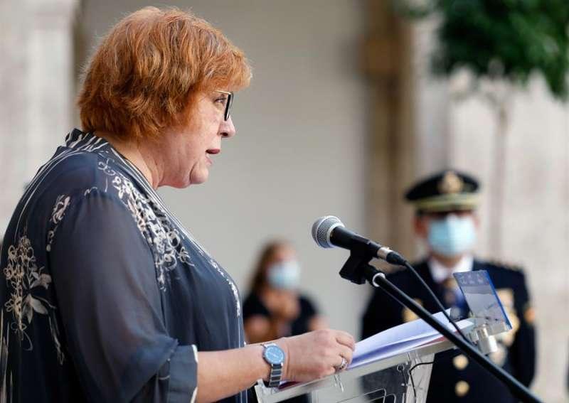 La delegada del Gobierno en la Comunitat Valenciana, Gloria Calero. EFE/ Juan Carlos Cárdenas/Archivo