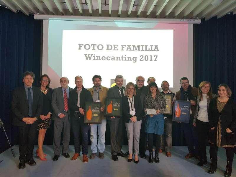 Instante del III Salón Profesional de Vinos de Alicante