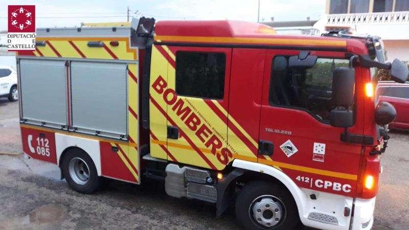 Un coche de bomberos del Consorcio Provincial de Castellón. EFE/CPBC