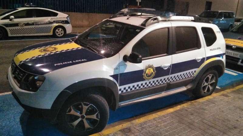 Vehículo de Policía Local. EPDA
