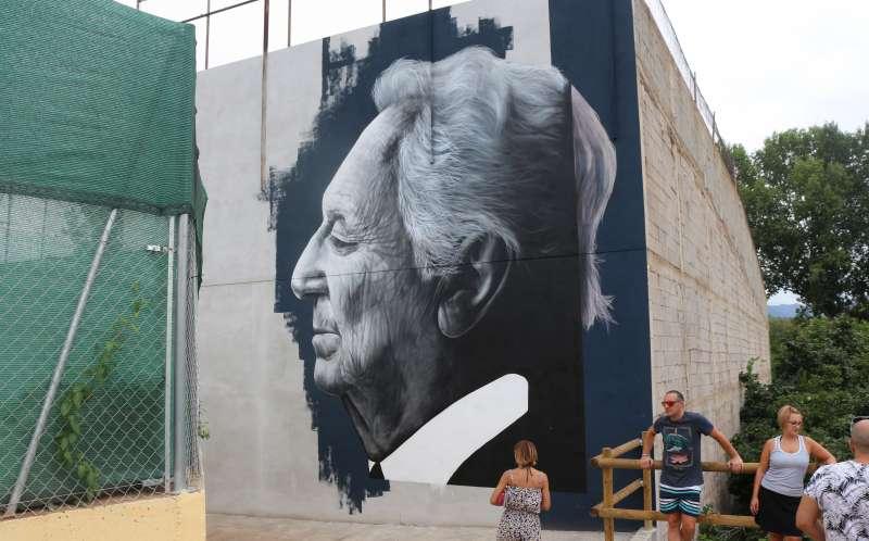 Uno de los murales pintados el año pasado