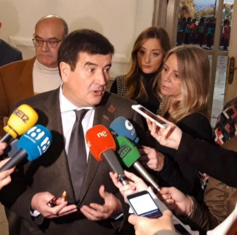 Portavoz de Cs en el Ayuntamiento de Valencia, Fernando Giner. -EPDA
