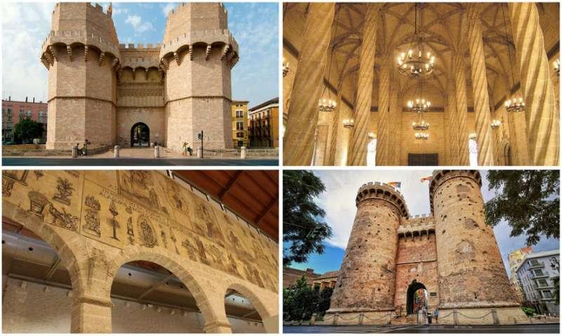 Algunos de los monumentos valencianos más importantes de Valencia  Foto: valenciabonita.es