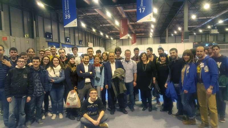 Foto de grup dels participants valencians.