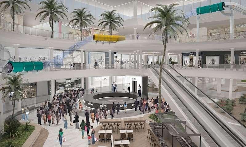 Imagen de la ampliación del centro comercial El Saler. EFE/Merlin Properties