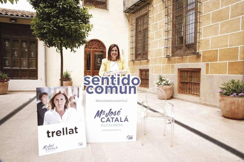 María José Catalá busca sentido común para València.