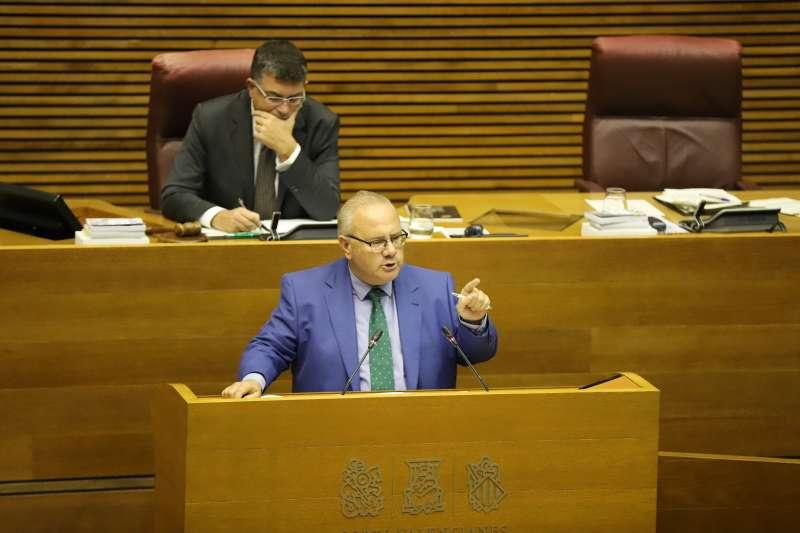 El portavoz de Justicia de Ciudadanos (Cs) en Las Cortes Valencianas, Vicente Fernández. -EPDA
