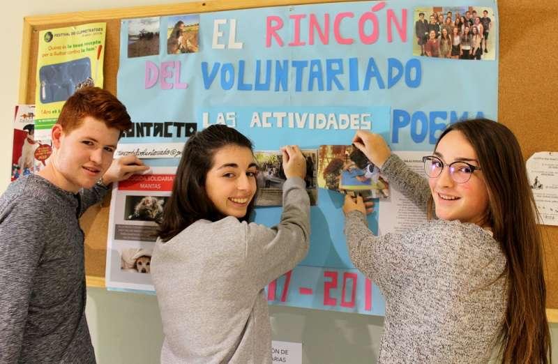 Alumnos de Bachillerato Internacional de Mas Camarena. EPDA