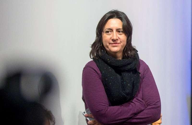 La diputada Rosa Pérez. EPDA
