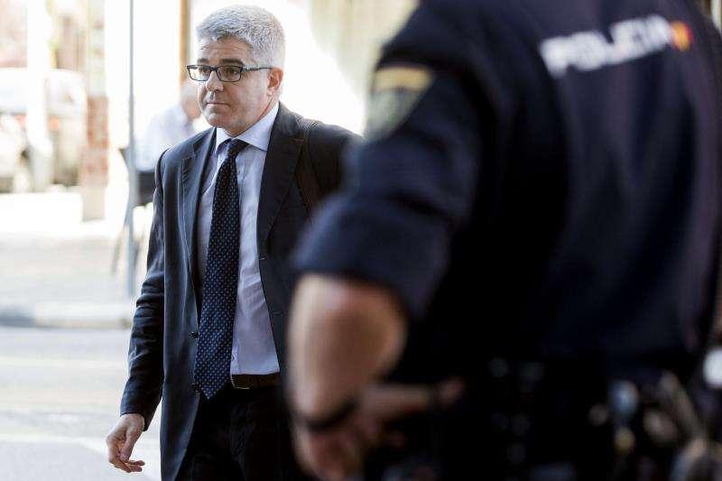 El ex director general de RTVV, José López Jaraba. EFE/Archivo