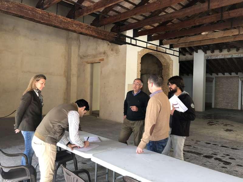 Paterna comienza a rehabilitar el interior del antiguo Casino de la Plaza del Pueblo