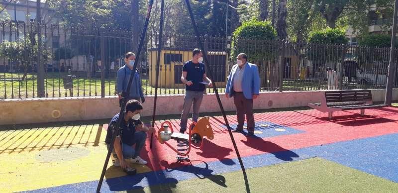 Parques infantiles/EPDA