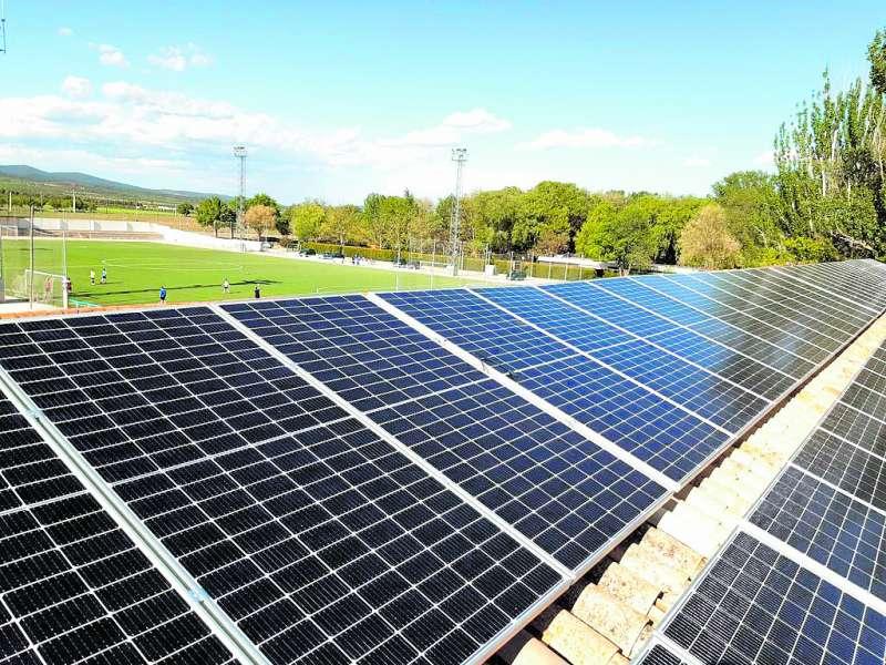 Placas fotovoltaicas de Camporrobles