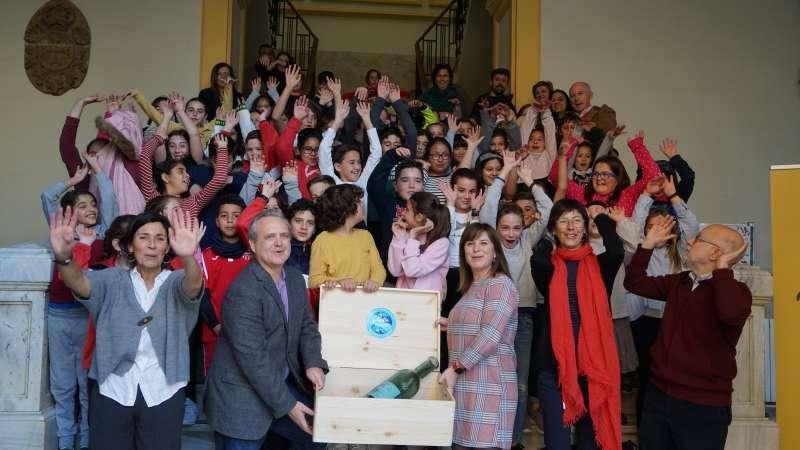 Todos los participantes en la presentación de La mar de Sagunt. EPDA