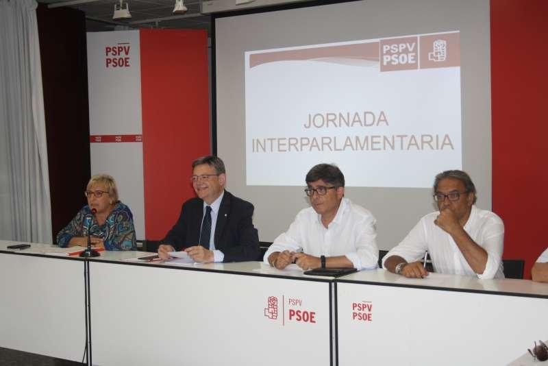 Ximo Puig durante su intervención. //EPDA