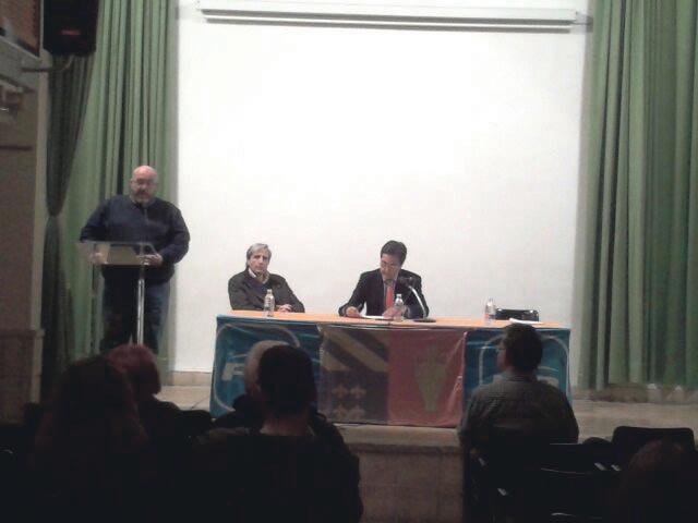 Salvador Maravilla, junto al alcalde y Chiquillo. FOTO EPDA