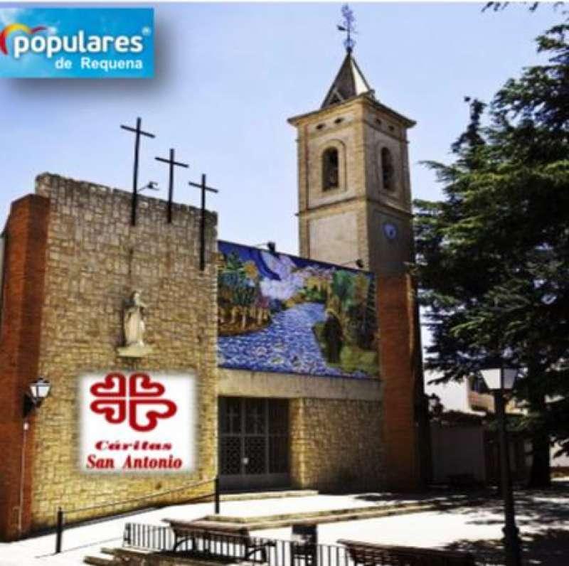 Parroquia San Antonio. Foto: PP Requena