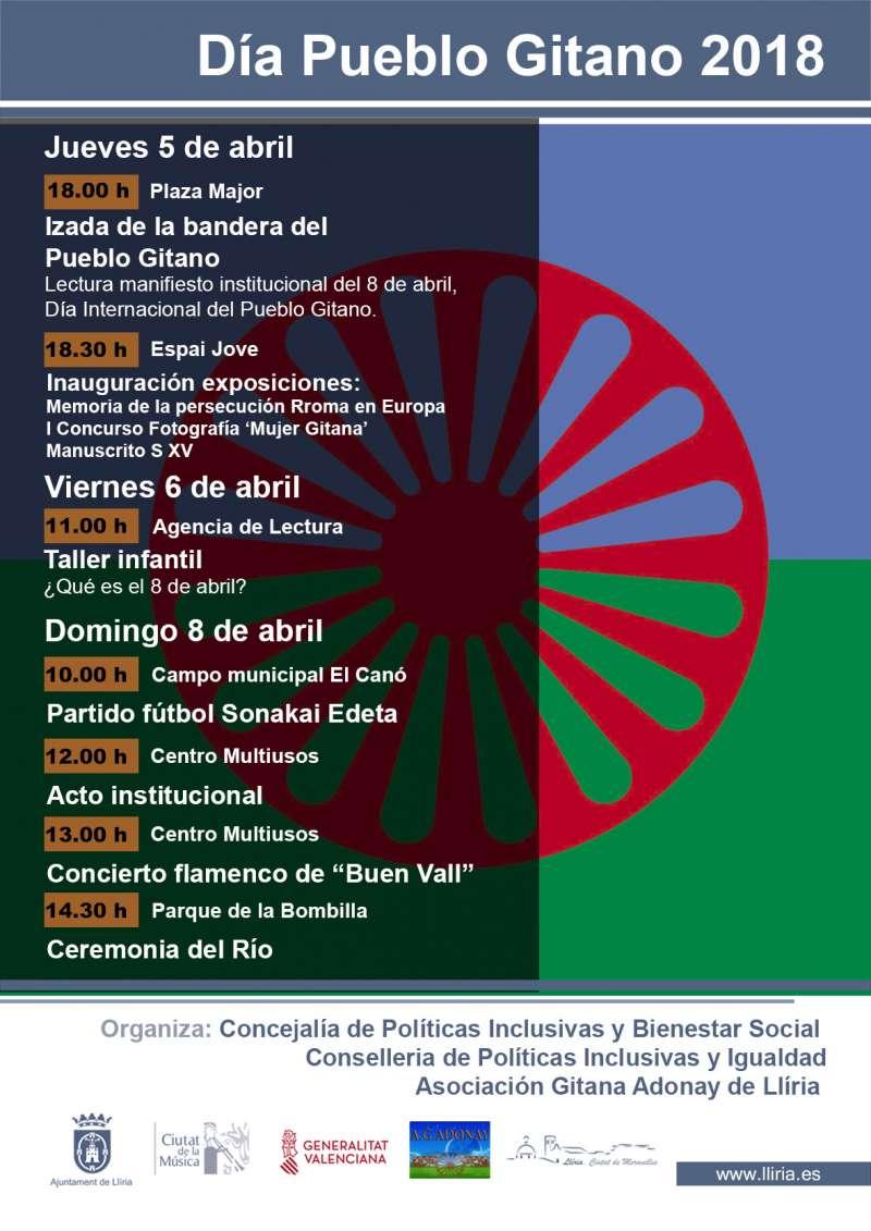 Llíria acoge el Día Internacional del Pueblo Gitano en la Comunitat Valenciana