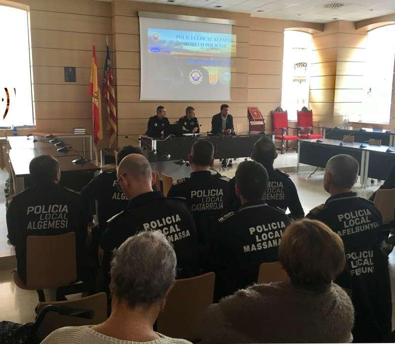 Presentación de la Memoria de 2017 de la Policía de Alfafar. EPDA