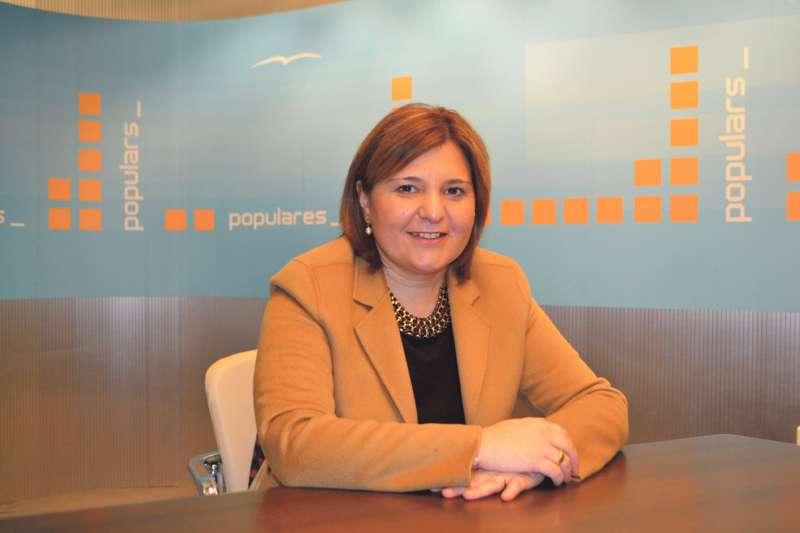 Isabel Bonig, presidenta del Partido Popular en la Comunitat Valenciana. EPDA