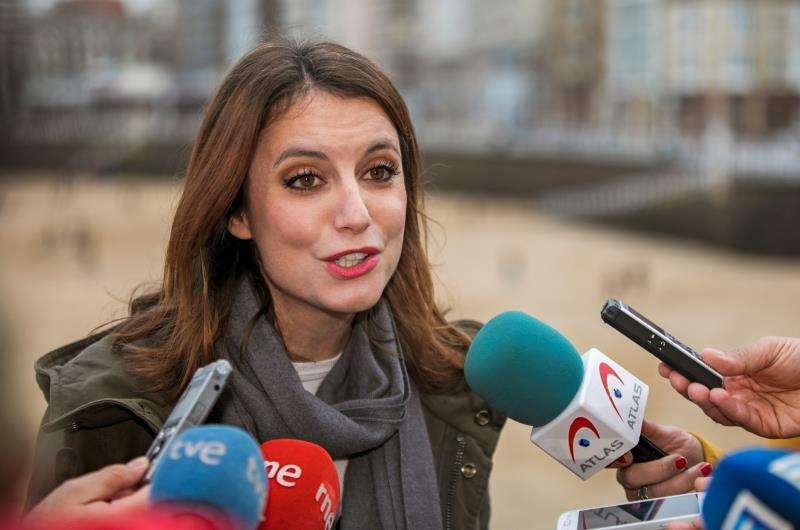 La vicesecretaria de Estudios y Programas del PP, Andrea Levy. EFE/Archivo