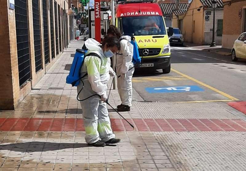 Limpieza de las calles de Torrent. EPDA