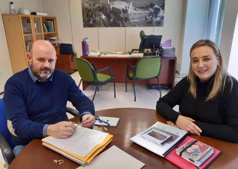 Rocío Ibáñez con Josep Cristiá