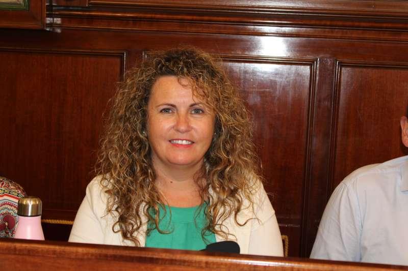 La portavoz de Ciudadanos en la Diputación Provincial de Castellón, Cristina Fernández. EPDA