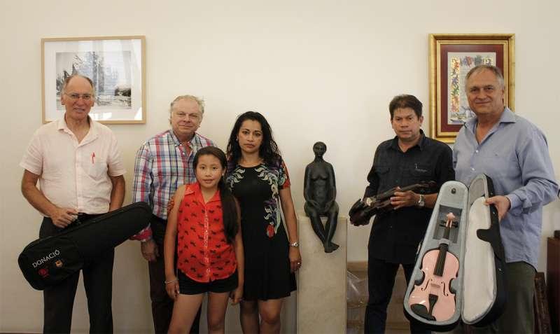 Llíria apuesta por la solidaridad musical con un encuentro con la fundación colombiana de Tchyminigagua y el Festival FAICP