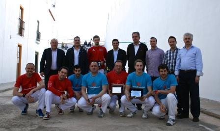 Al acto asistieron, el Diputado de Deportes de la Diputación de Valencia, Miguel Bailach y el Alcalde de Foios, Héctor Bueno entre otros. FOTO: EPDA.