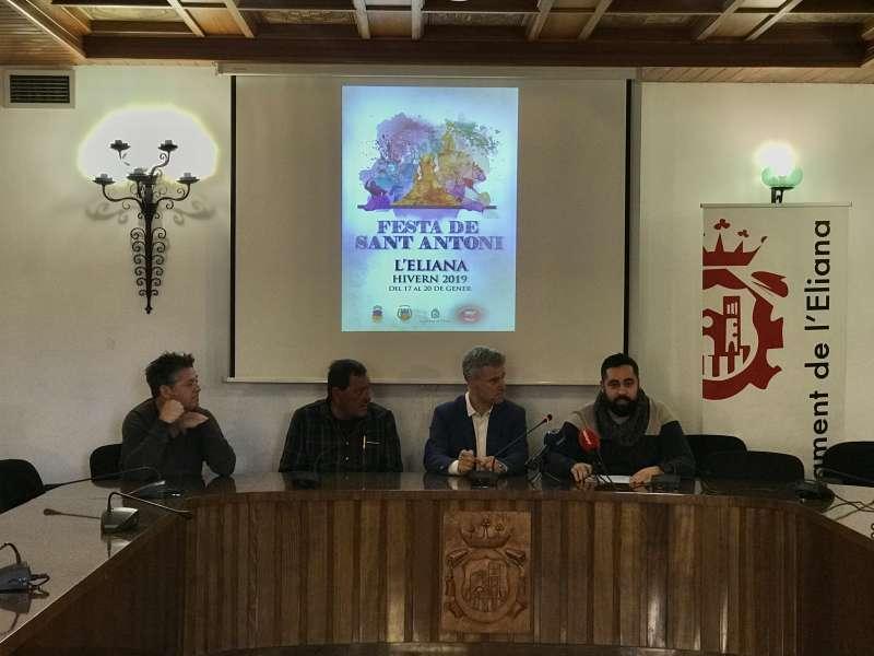Presentació de la festa de Sant Antoni Abad