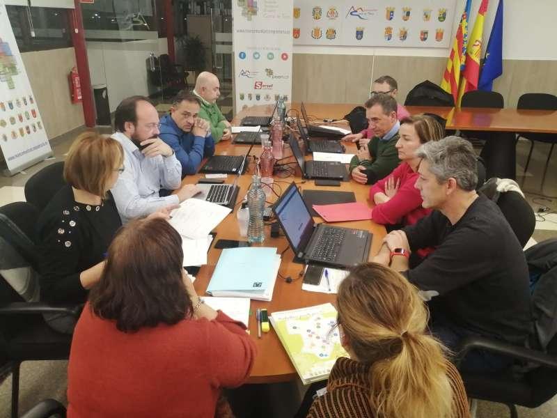 Membres de la Junta de Govern Local de la Mancomunitat de Camp de Túria. / EPDA