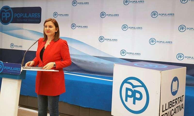 La portavoz adjunta del PP en Les Corts Valencianes María José Català. EFE/Archivo