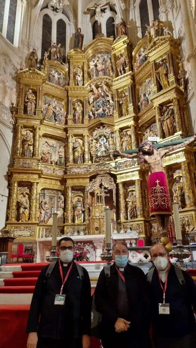 Representantes de la Catedral de Segorbe en Burgos