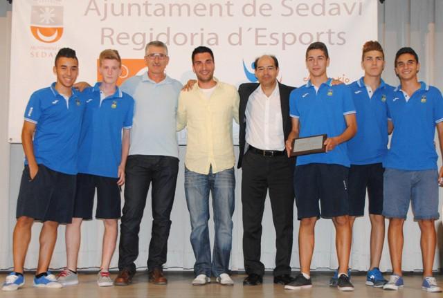 Imagen de uno de los grupos de deportistas reconocido. FOTO: EPDA